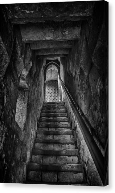 Up To The Walls Canvas Print