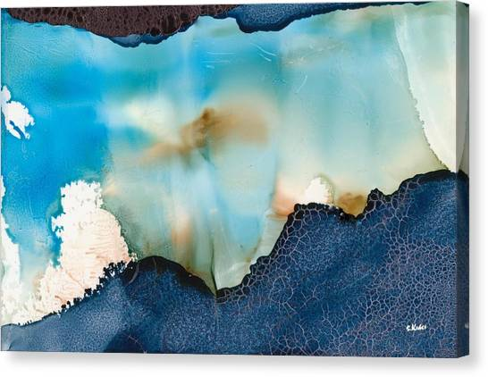 Updrafts Canvas Print by Susan Kubes