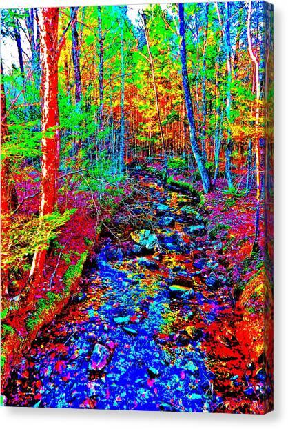 Upland Trail 2014 221 Canvas Print