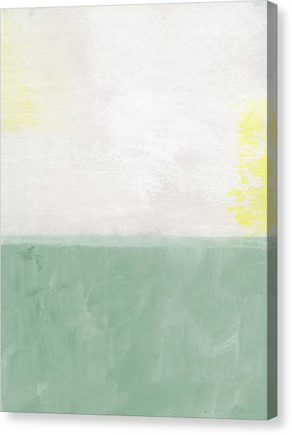 Abstract Designs Canvas Print - Upon Our Sighs by Linda Woods