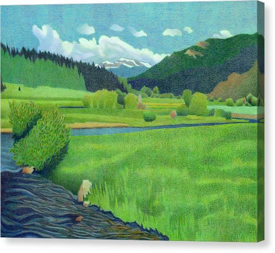 Upper Bear Creek Colorado Canvas Print