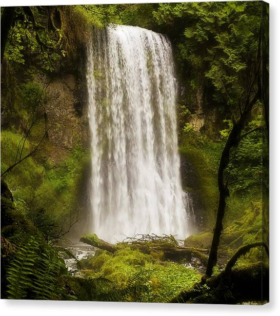 Upper Bridal Veil Falls 2 Canvas Print