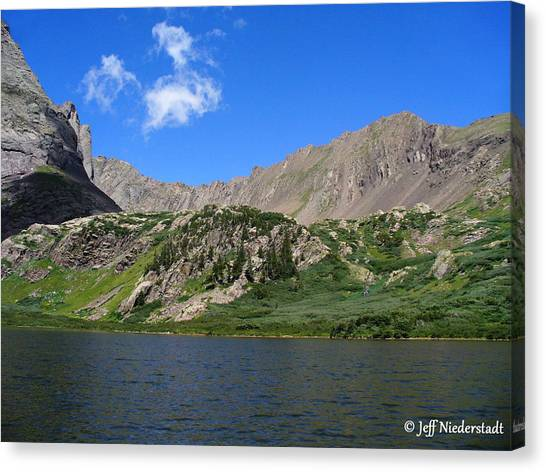 Upper Lake Canvas Print