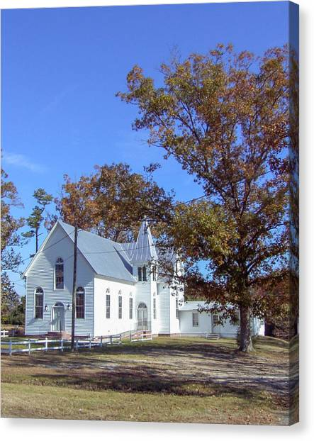 Upper Neck Church Canvas Print