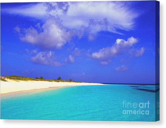 Upper Shoal Bay Canvas Print