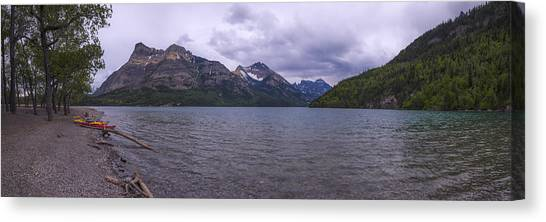 Alberta Canvas Print - Upper Waterton Lake by Chad Dutson