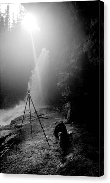 Upper Wolf River Falls Canvas Print