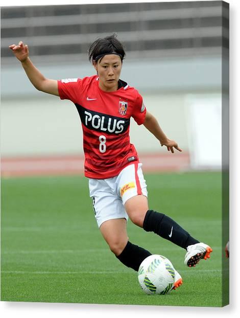 Urawa Red Diamonds Ladies V Ac Nagano Parceiro Ladies - Nadeshiko League Canvas Print by Hiroki Watanabe