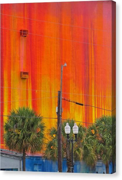Urban Burn Canvas Print