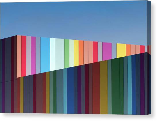 Rainbow Canvas Print - Urban Candy by Gregory Evans