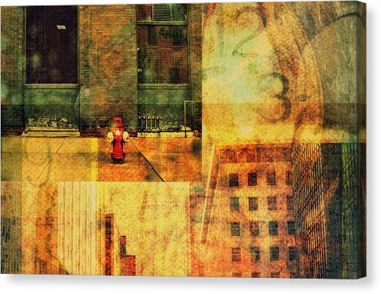 Urban Collage Canvas Print