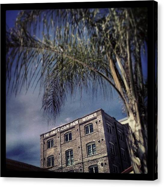 Warehouses Canvas Print - #urban Composition #2, #nola by Glen Abbott