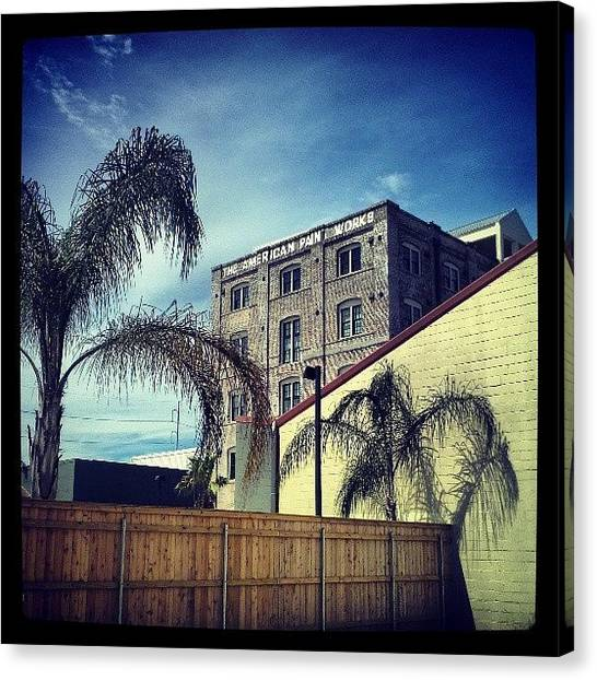 Warehouses Canvas Print - #urban Composition, #nola by Glen Abbott