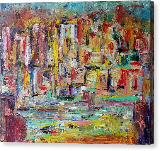 Urban Landscape Canvas Print