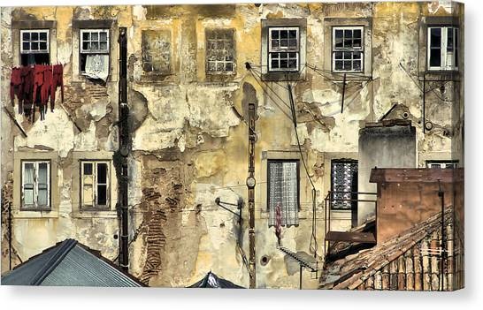 Urban Lisbon Canvas Print