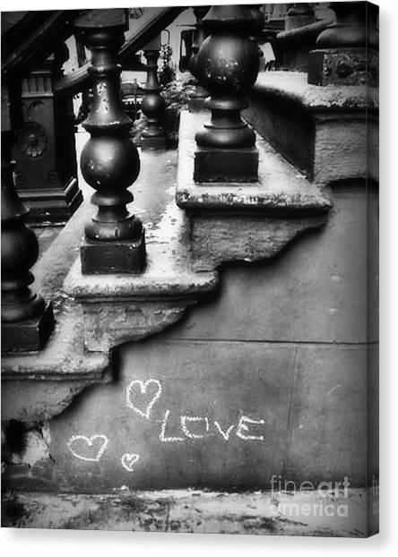 Urban Love Canvas Print