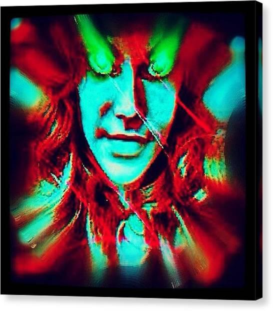 Spiral Canvas Print - Urbane Alien Unmasked by Urbane Alien