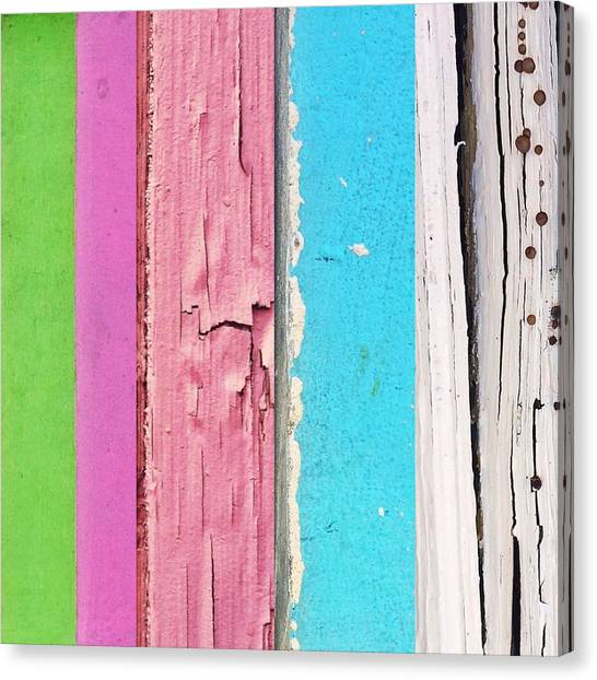 Old Age Canvas Print - Urbanstratification Pastel  by Rene Constantin
