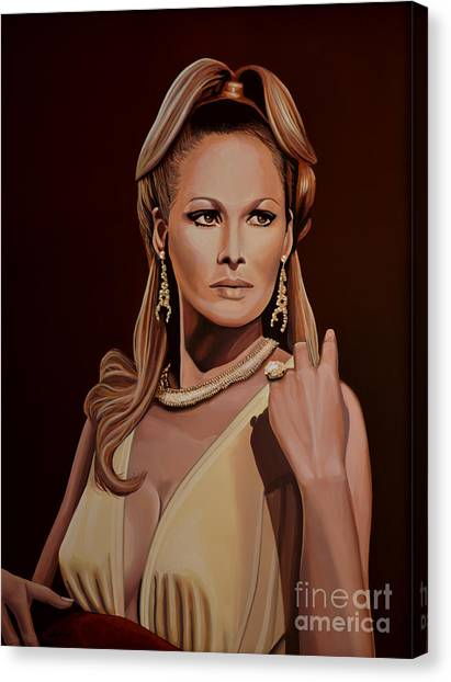 Swiss Canvas Print - Ursula Andress by Paul Meijering