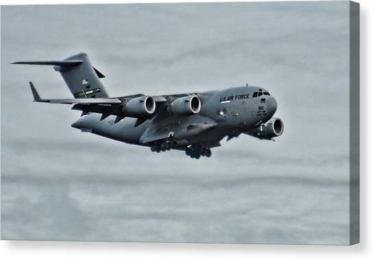 Us Air Force C17 Canvas Print