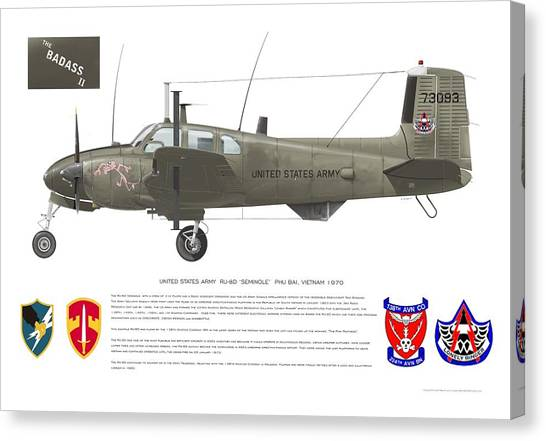 U.s. Army Ru-8d 138th Canvas Print