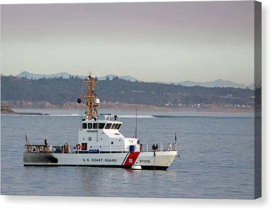 U.s. Coast Guard Cutter - Hawksbill Canvas Print