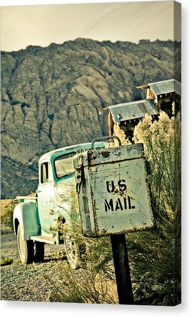 Us Mail Canvas Print by Merrick Imagery