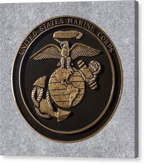Us Marine Corps Canvas Print