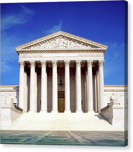 Us Supreme Court Building, Washington Canvas Print