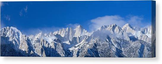 Mountainscape Canvas Print - Usa, California, Mount Whitney by Panoramic Images