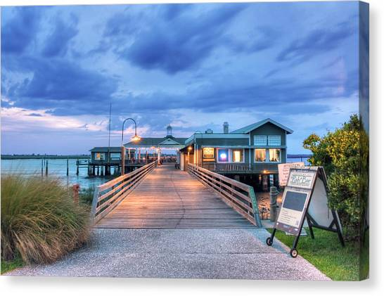 Architectural Detail Canvas Print - Usa, Ga, Jekyll Island, The Jekyll by Rob Tilley
