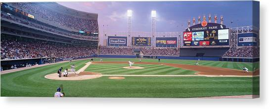 Chicago White Sox Canvas Print - Usa, Illinois, Chicago, White Sox by Panoramic Images