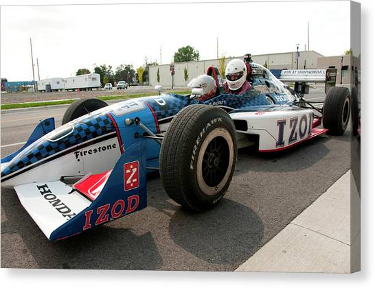 Indy 500 Canvas Print - Usa, Indiana, Indianapolis Motor by Lee Foster