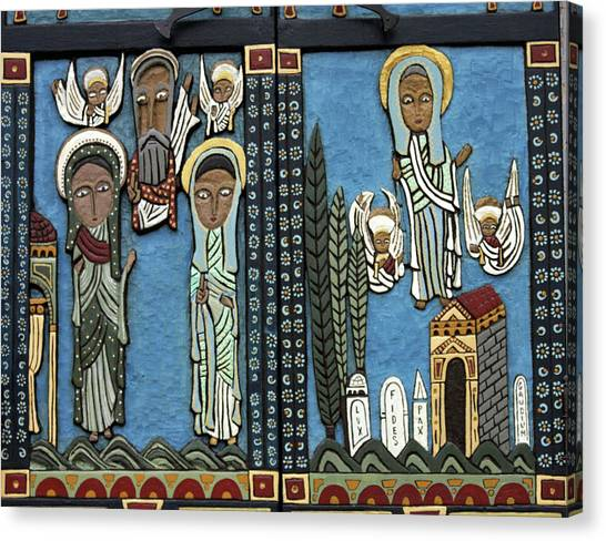 Coptic Art Canvas Print - Usa, Massachusetts, Welfleet by Jaynes Gallery