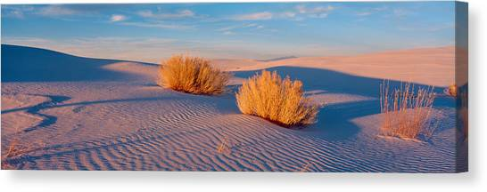 Nm Canvas Print - Usa, New Mexico, White Sands, Sunset by Panoramic Images