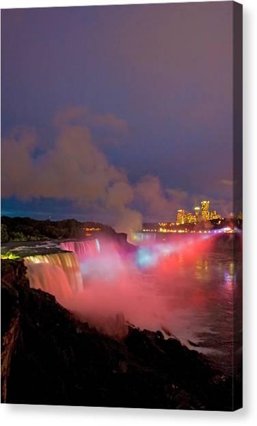 Horseshoe Falls Canvas Print - Usa, New York, Niagara Falls by Jaynes Gallery