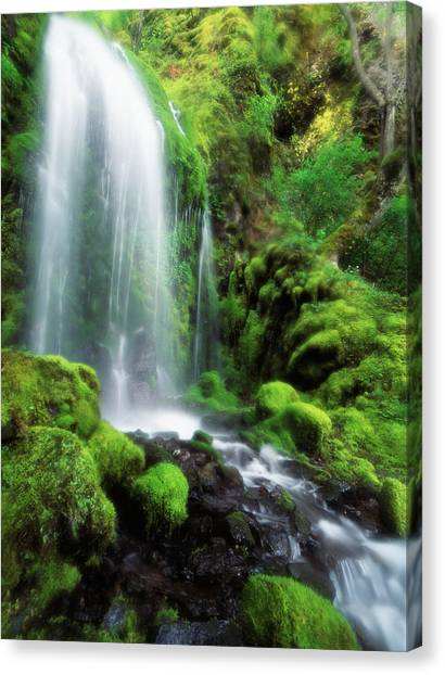 Colombian Canvas Print - Usa, Oregon, Colombia, View by Stuart Westmorland