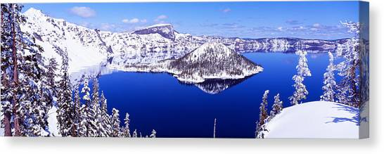 Calm Down Canvas Print - Usa, Oregon, Crater Lake National Park by Panoramic Images