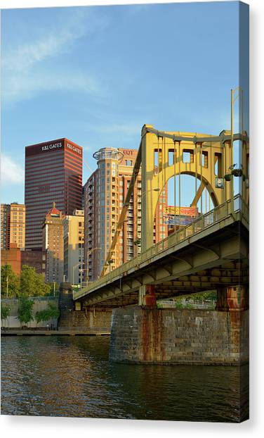 Andy Warhol Canvas Print - Usa, Pennsylvania, Pittsburgh by Kevin Oke