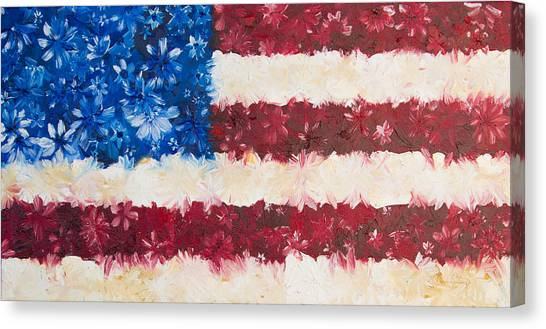 Usa Proud Canvas Print