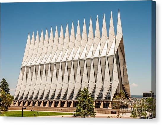 Air Force Academy Chapel Canvas Print