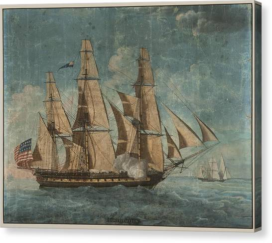 Uss Constitution 1803 Canvas Print