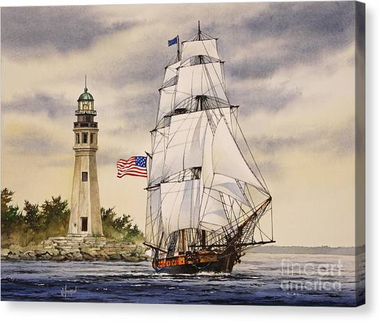 Uss Niagara Canvas Print