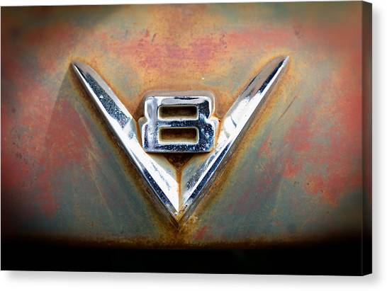 V8 Ford Canvas Print