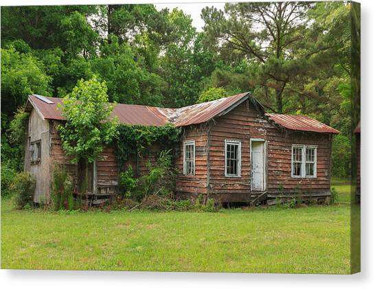 Vacant Rural Home Canvas Print