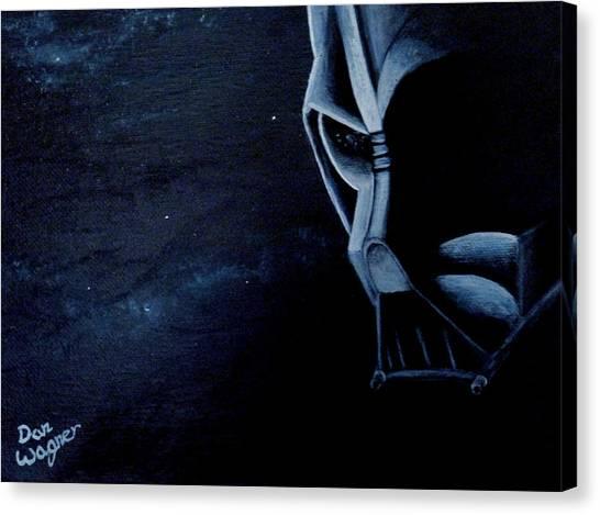Vader Galaxy Canvas Print