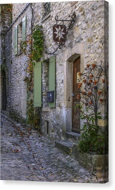 Vaison La Romaine Canvas Print
