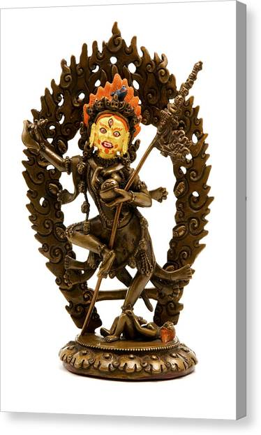 Cut-outs Canvas Print - Vajrayogini by Fabrizio Troiani