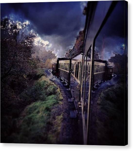 Steam Trains Canvas Print - Vale Of Rheidol by Alex Nagle
