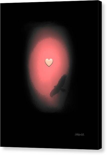 Valentine Heart 3 Canvas Print by Brian D Meredith